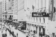 Wall Street Schild in New York