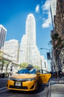 Gelbes Taxi in New York City
