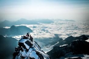 Der Gipfelgrat am Großglockner