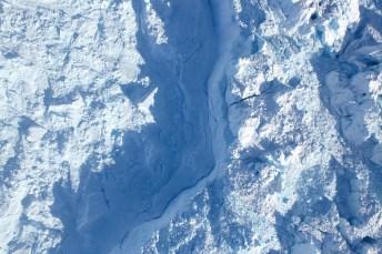 Drohnenaufnahme Jakobshavn Gletscher