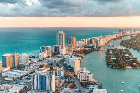 Helikopterflug South Beach Miami