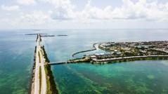 Florida Key West von oben