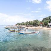 Strand Sanur auf Bali