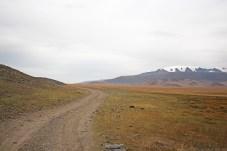 Wege durch die Landschaft der Mongolei