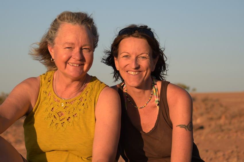 1. Sundowner auf Namib Rand