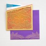 laser botanical golden folio | AZURE