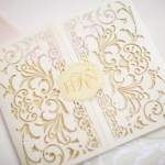 laser cut stationery couture and bespoke