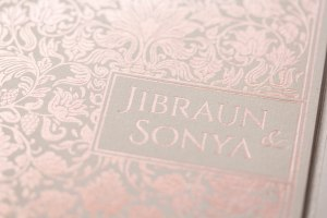 ROSEGOLD FOIL PRESS