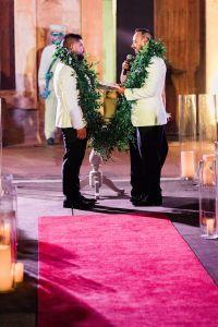red carpet glam wedding