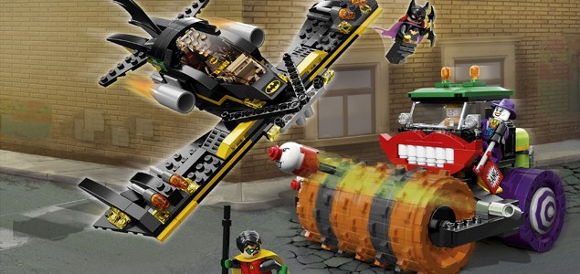 REVIEW LEGO 76013 Batman - The Joker Steam Roller