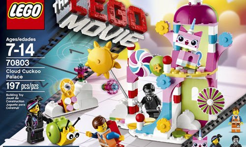 REVIEW LEGO Movie 70803 - Cloud Cuckoo Palace
