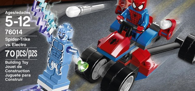 REVIEW LEGO 76014 Spiderman – Spider-Trike vs Electro