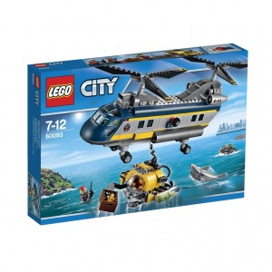 LEGO City Deep Sea Helicopter (60093)