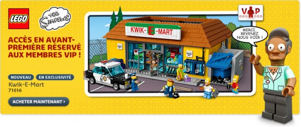 71016 The Kwik-E-Mart LEGO