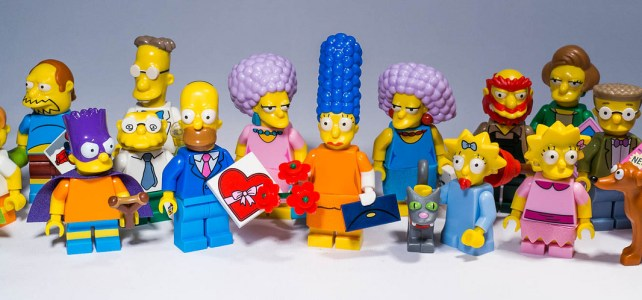 REVIEW LEGO 71009 – The Simpsons Minifigures Série 2