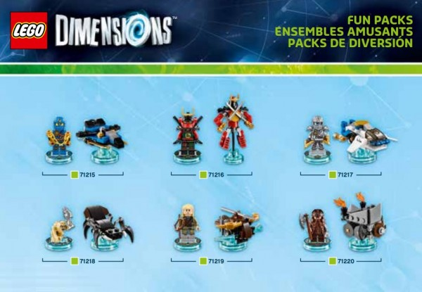LEGO Dimensions Pack 8
