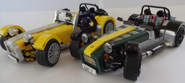 LEGO Ideas Caterham Super Seven