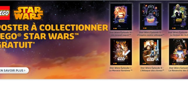 affiches LEGO Star Wars