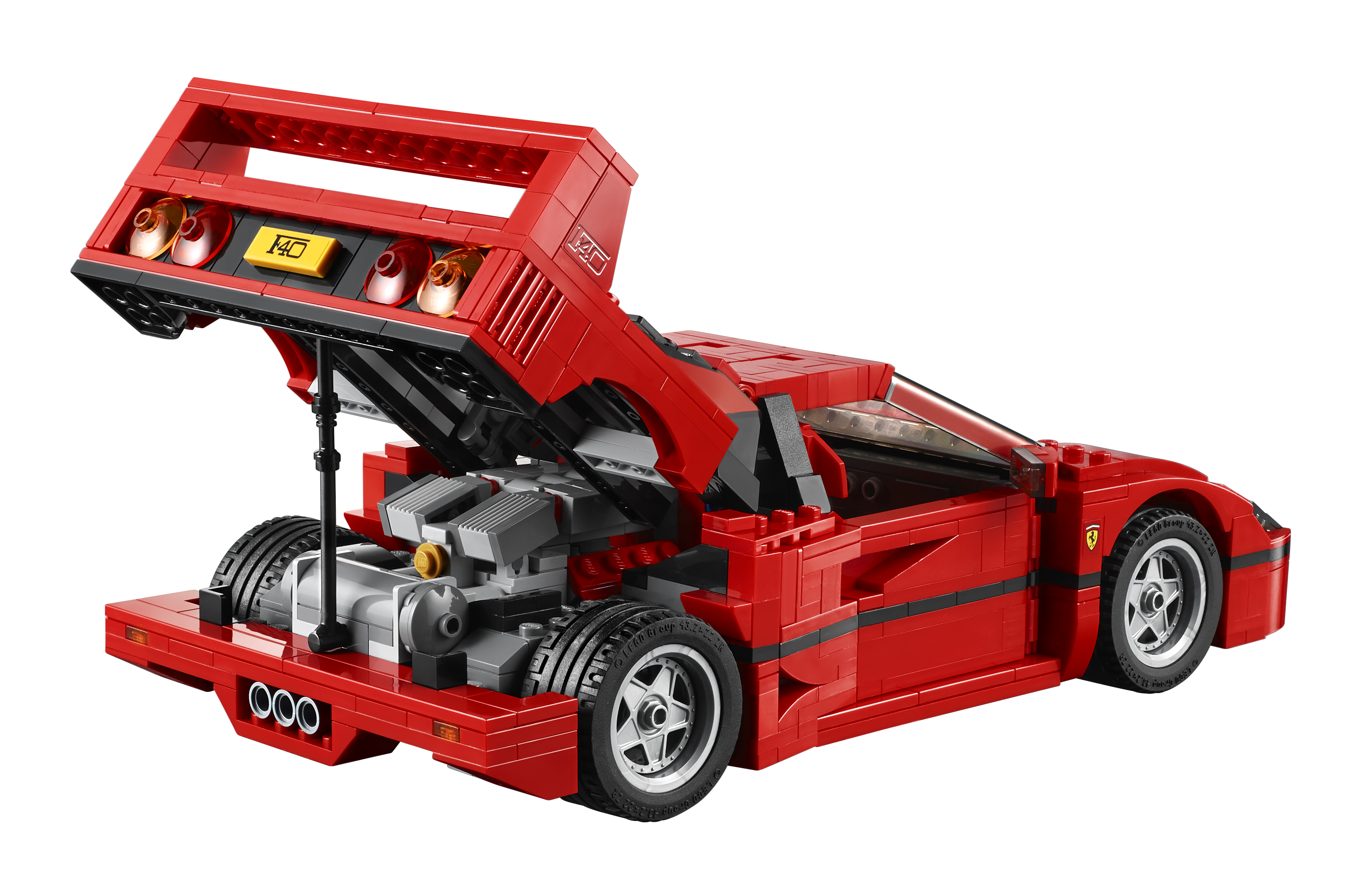 10248 creator expert ferrari f40 l 39 annonce officielle hellobricks blog lego. Black Bedroom Furniture Sets. Home Design Ideas