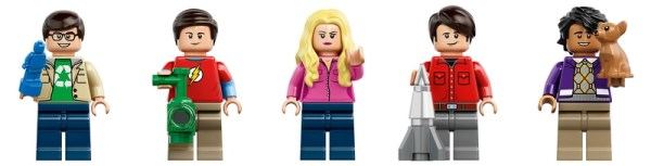 LEGO Ideas The Big Bang Theory (21302) Minifigs