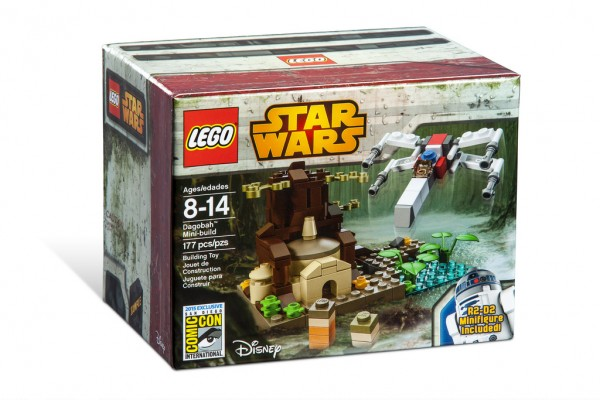 SDCC 2015 LEGO Star Wars Dagobah Mini-Build