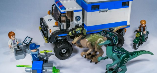 REVIEW LEGO 75917 – Jurassic World – La destruction du Vélociraptor