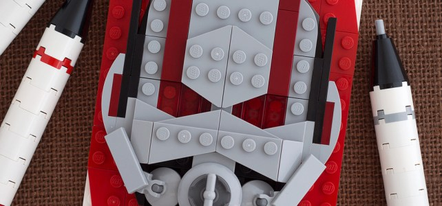 LEGO Marvel Brick Sketch Ant-Man
