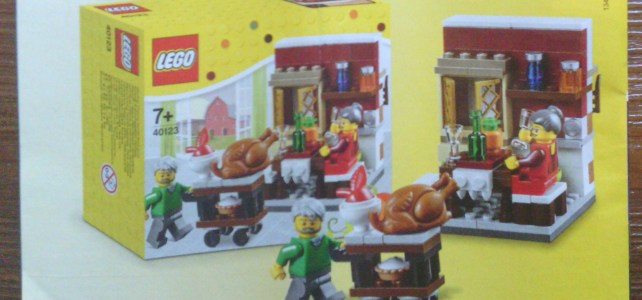 40123 LEGO Seasonal Thanksgiving Feast