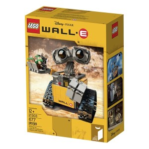 LEGO Ideas #011 WALL•E (21303) front