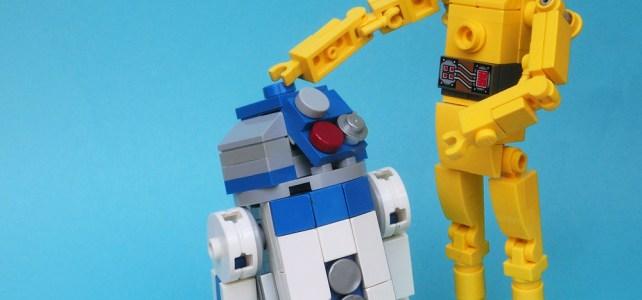 LEGO R2-D2 & C-3PO