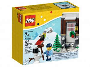 LEGO Seasonal 40124 Winter Fun box
