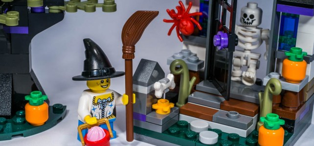 REVIEW LEGO 40122 – Seasonal – Trick or Treat Halloween
