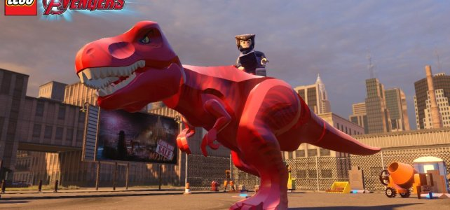LEGO Marvel's Avengers Video Game - Devil Dinosaur