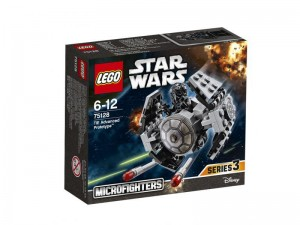 LEGO Star Wars Microfighters 75128 Tie Advanced Prototype box