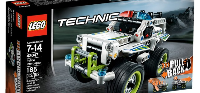 LEGO Technic 42047 Police Interceptor