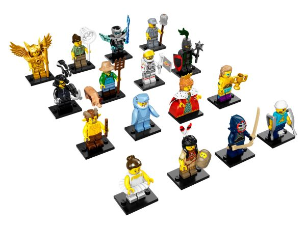 Collectible Minifigures Series 15 HD