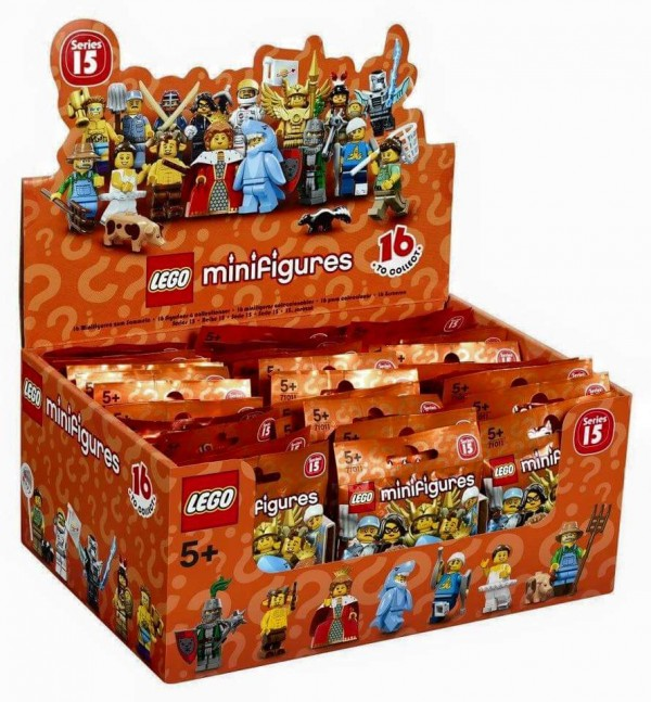 Collectible Minifigures Series 15 box minifigs à collectionner