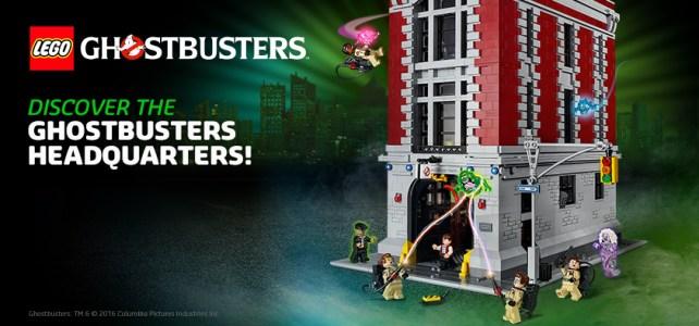 LEGO 75827 Le QG des Ghostbusters