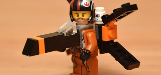 Star Wars TFA X-Wing minifig costume