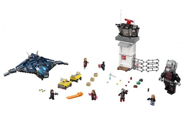 76051 Super Hero Airport
