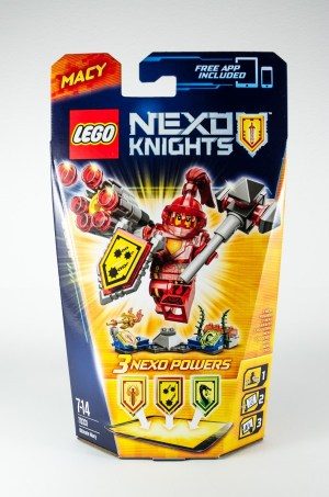 Review LEGO Nexo Knights 70331 Ultimate Macy_01