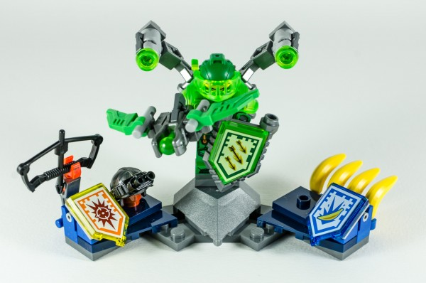 Review LEGO Nexo Knights 70332 Ultimate Aaron 20