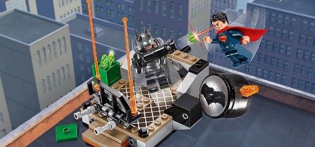 Review LEGO 76044 DC Comics Clash of the Heroes