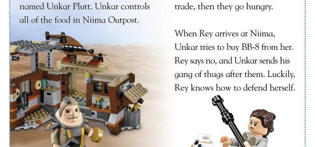 LEGO Star Wars The Force Awakens DK 75148 Encounter on Jakku