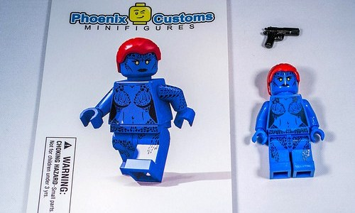 REVIEW LEGO Custom Mystique par Phoenix Customs