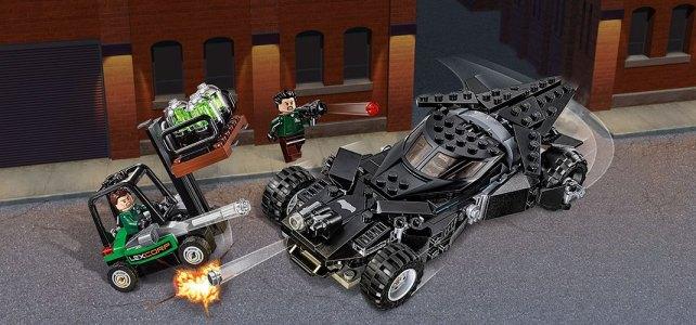 REVIEW LEGO DC Comics 76045 Kryptonite Interception