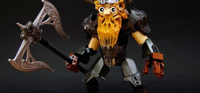 LEGO Guerrier nain et armure de cristal Bionicle