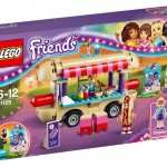 LEGO Friends Amusement Park Hot Dog Stand (41129) box