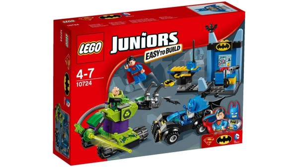 LEGO Juniors Batman & Superman vs Lex Luthor (10724) box - Nouveautés LEGO été 2016
