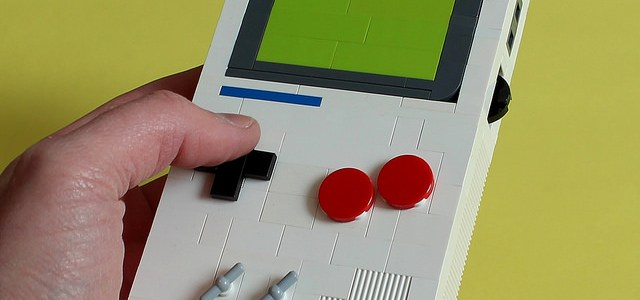 LEGO Nintendo Game Boy